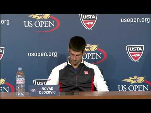 2012 US Open Press Conferences: Novak Djokovic (Final)