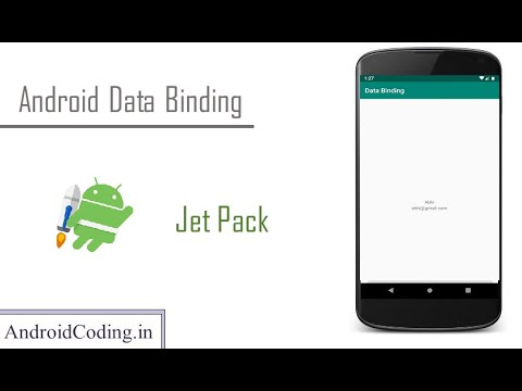 Databinding in android  || Jetpack Components