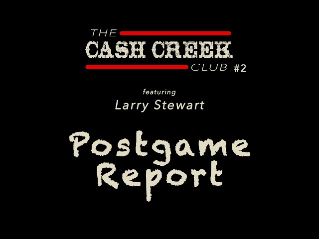 The CC Club Live #2 (feat Larry Stewart) Postgame Report Country Music Talk Show