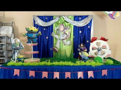 Fiesta De Buzz Lightyearparty Boysmesa De Dulces Ideasdecoracionfiestas Infantiles Toy Story