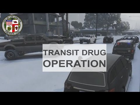GTA IV/5: DPS Clan - Patrol 153 - Transit Drug Operation - Task Force Unit - Ep. 6