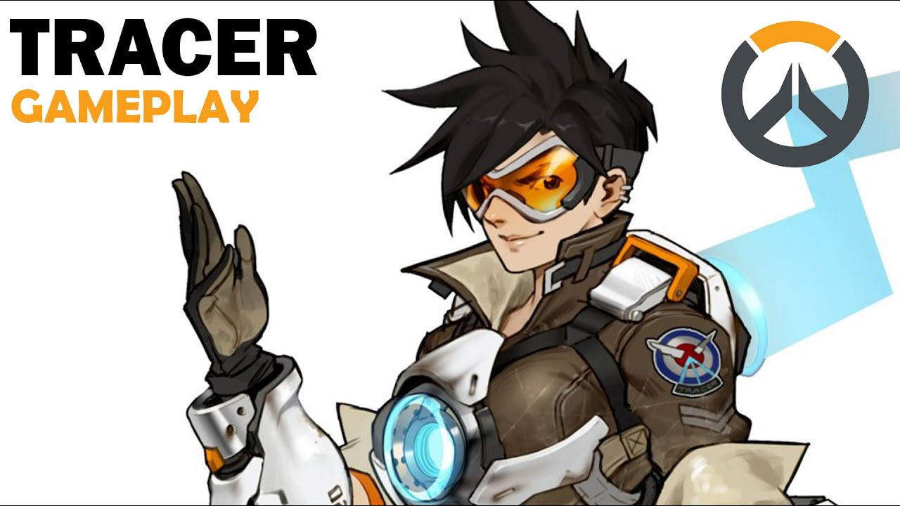 Tracer  Cover Model  OVERWATCH INDO  YouTube