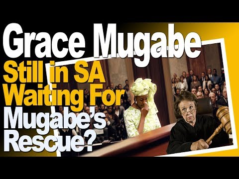 Grace Mugabe Still In South Africa, Waiting For Mugabe