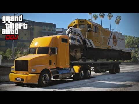 Download Youtube: GTA 5 Roleplay - DOJ 291 - Deadliest Cargo (Civilian)