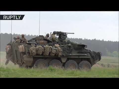 NATO conducts drills in Poland