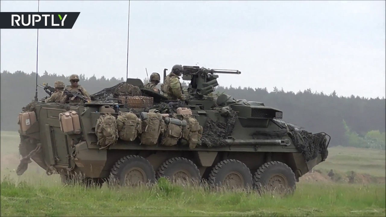 NATO conducts drills in Poland