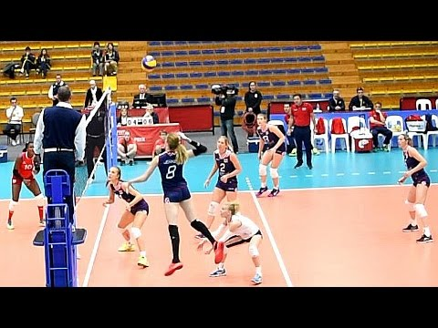 Best points: Croatia vs Cuba Volleyball on 03-06-2016