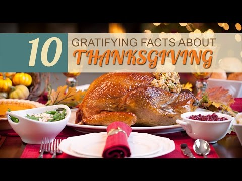 10 Gratifying Facts about Thanksgiving