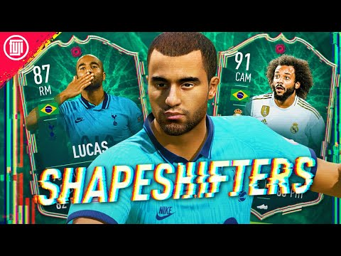 MOST OP CARD IS BACK!!!! SHAPESHIFTERS 87 LUCAS & 91 MARCELO PLAYER REVIEW! - FIFA 20 Ultimate Team