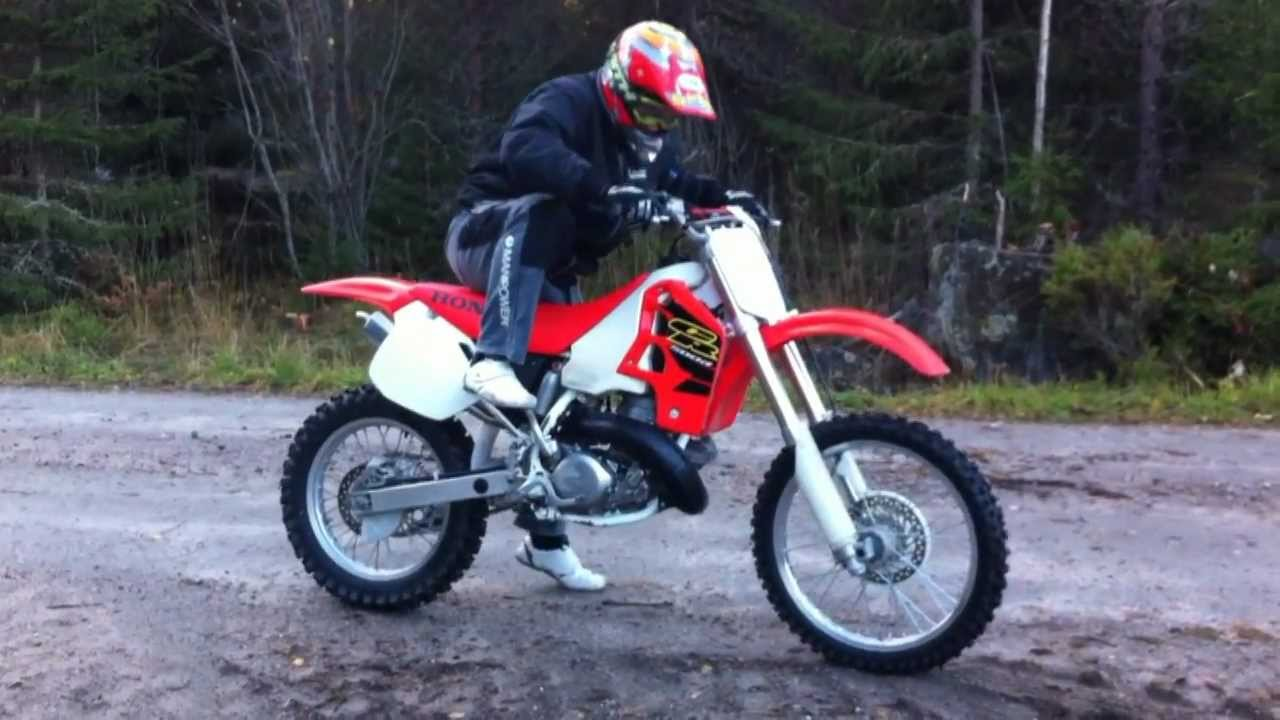 honda cr 500 sound check braaap youtube. Black Bedroom Furniture Sets. Home Design Ideas