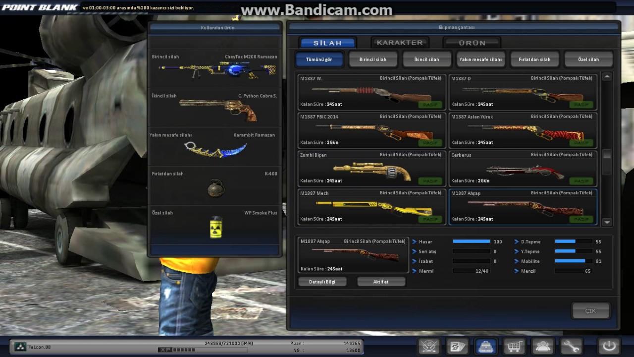 Download PointBlank `FaLcon.BB Ekpman videosu