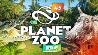 C'est le DRAME : Crocodile vs Phacochère ! ► Planet Zoo #5