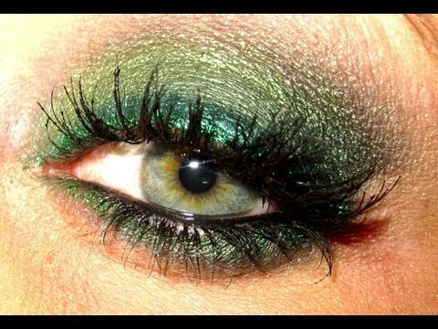 Makeup tutorial trucco Green Topaz