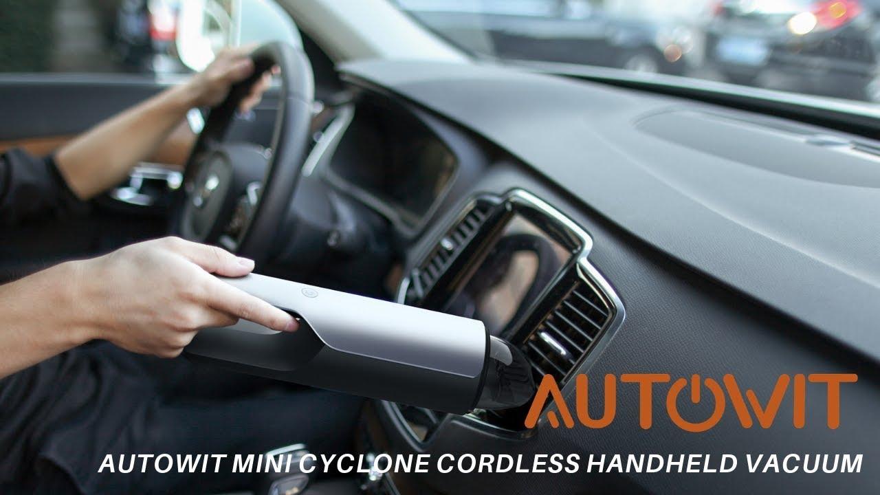 MiniCyclone Cordless Handheld Vacuum video thumbnail