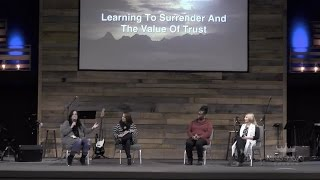 """Learning to Surrender & the Value of Trust"""
