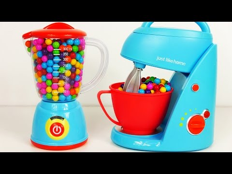 Mixer Blender Home Kitchen Toy Appliance Playset for Kids