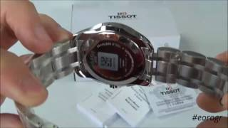 TISSOT T-Trend Couturier GMT Stainless Steel Chronograph T0354391105100