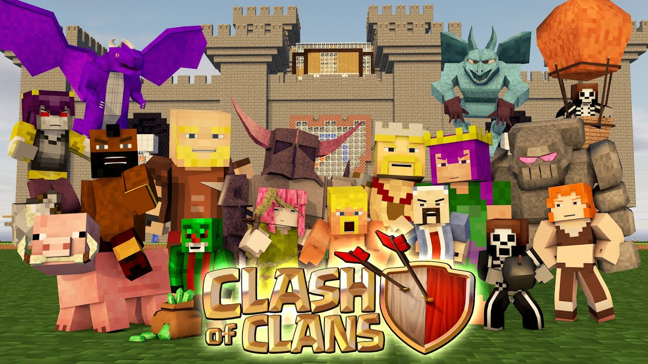Minecraft Clash Of Clans Nations   Starting Fresh Youtube