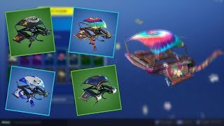 Fortnite - All v5.3 Gliders! (Flappy, Purrfect....)