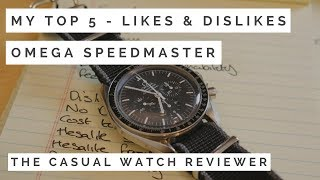 Omega Speedy - Likes & Dislikes after 10 years