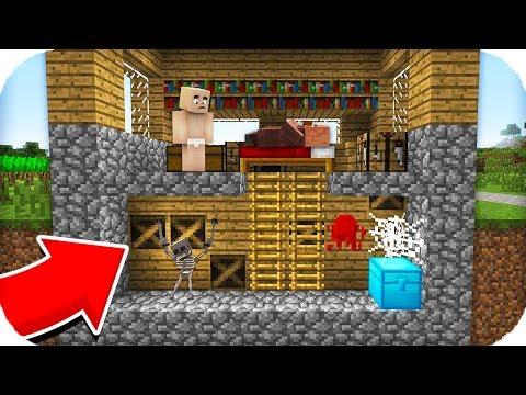 TROLL BEBEK POLİSLERİN GİZLİ SİLAH ODASINI BULDU! 😱 Minecraft