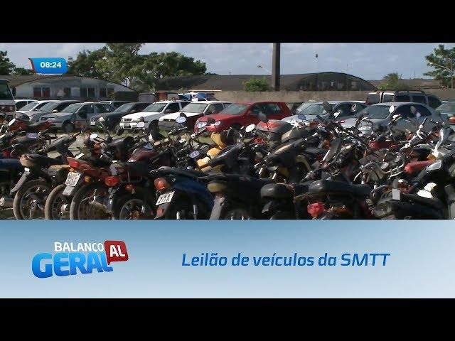 Acontece hoje o leilão de veículos da SMTT