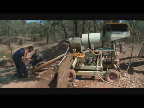 Gold prospecting plant 2tph