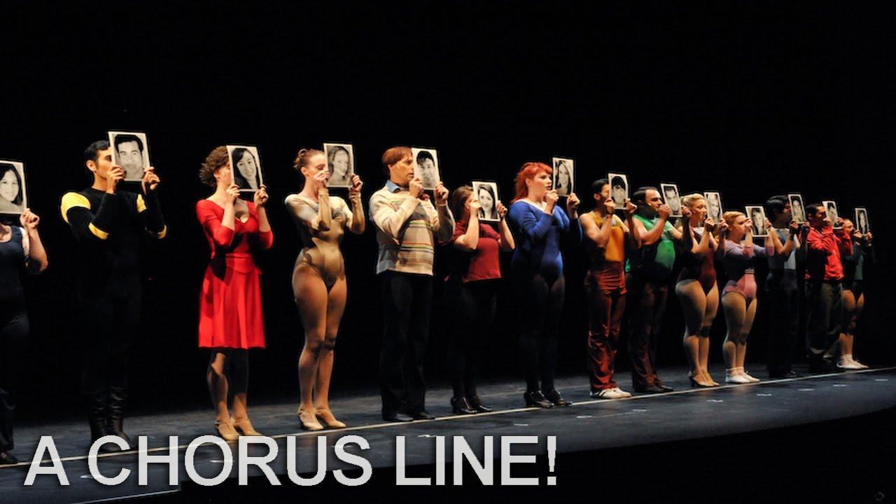 A Chorus Line with Janie Scott