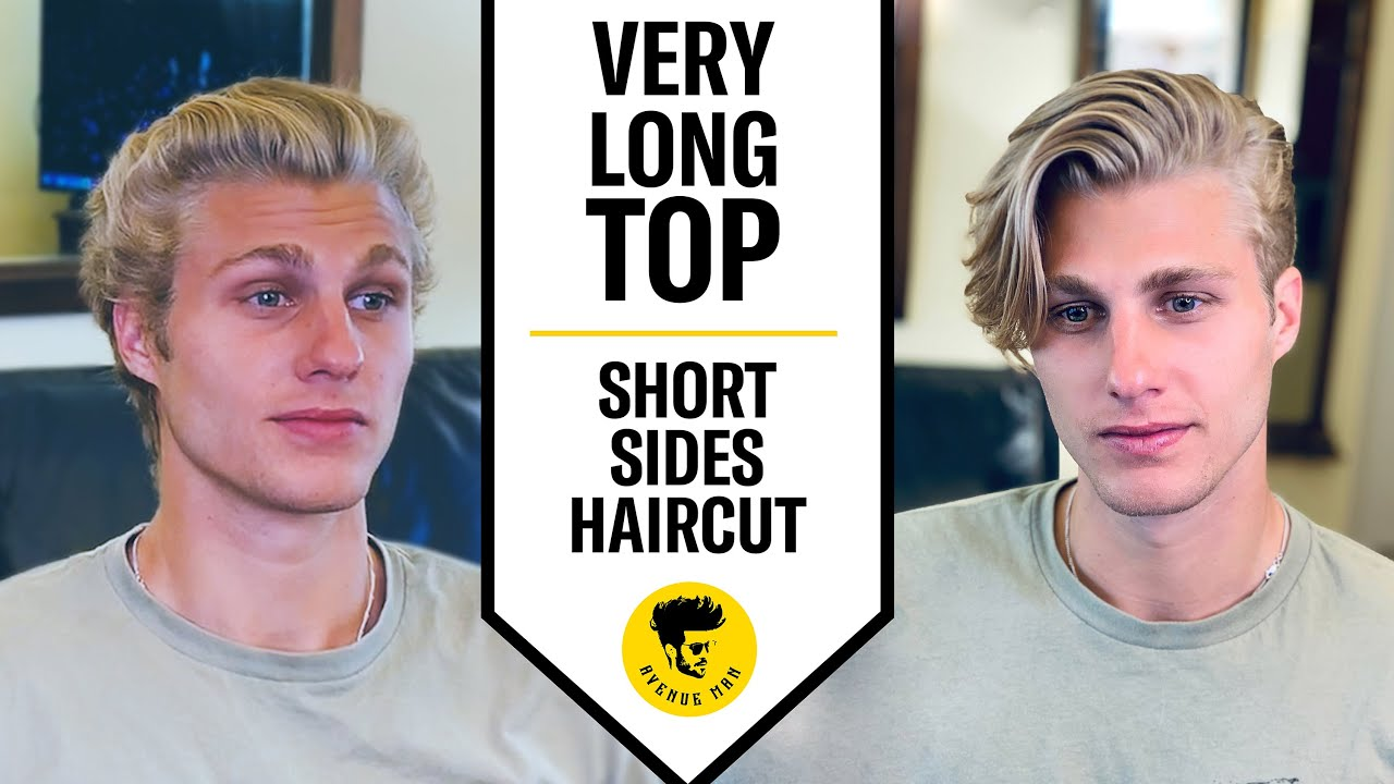 Very Long Top Short Sides 2020 Men S Modern Haircut Youtube