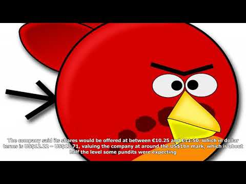Angry birds maker to be valued at around us$1bn when it floats this month