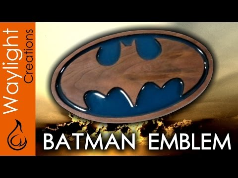 Make A Wood Batman Symbol - SUPERHERO EMBLEM #2