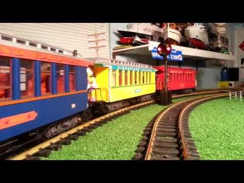LGB Fred Gurley/Disneyland Train, Rebuilt By Messinger Model Works For Imagination Station Kids HD