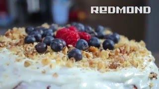 Торт-сметанник в мультиварке Redmond
