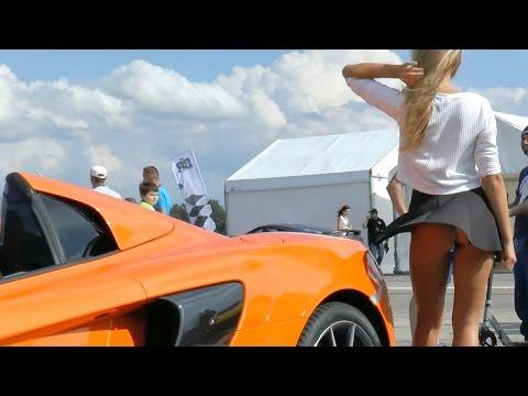 Battle Royale 2014 polish supercars 1 mile dragracing festival