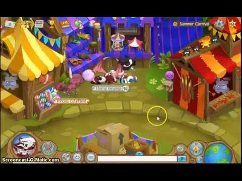 Animal jam summer carnival prizes