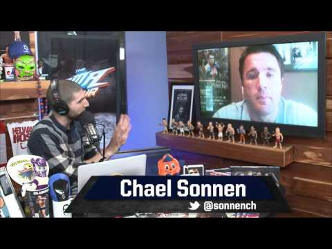 Chael Sonnen Says He Would Love to Kick Georges St-Pierre's Ass