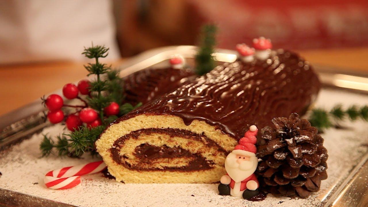 Tronchetto Di Natale Menu Di Benedetta.Ricetta Tronchetto Dolce Di Natale