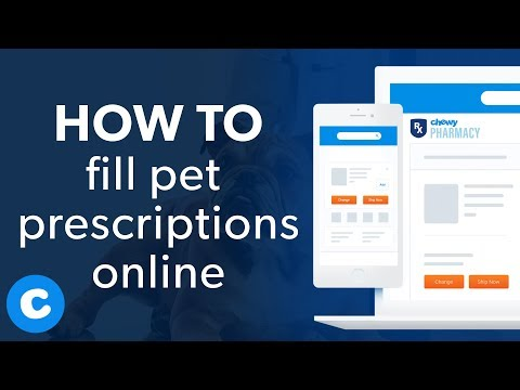 How To Fill Pet Prescriptions Online With Chewy Pharmacy