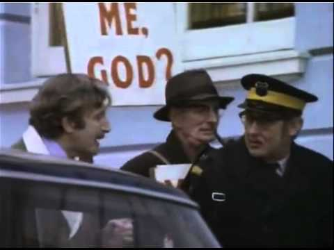 Spike Milliigan Parking warden with Peter Sellers and Ringo Starr