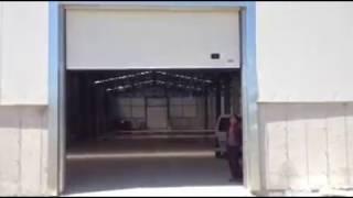 ENDÜSTRİYEL SEKSİYONEL DEPO KAPILARI / ESKİŞEHİR - Ases Otomatik Kapı Sistemleri