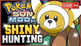 Pokémon Sun & Moon LIVE Shiny Hunting! Hunting For Shiny Stufful! w/ HDvee thumbnail