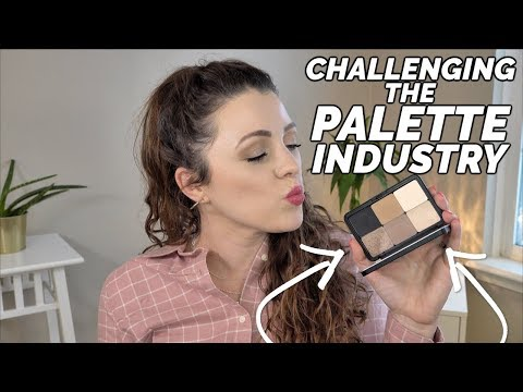 LETS CHALLENGE THE PALETTE INDUSTRY | Make Your Own PERFECT PALETTE