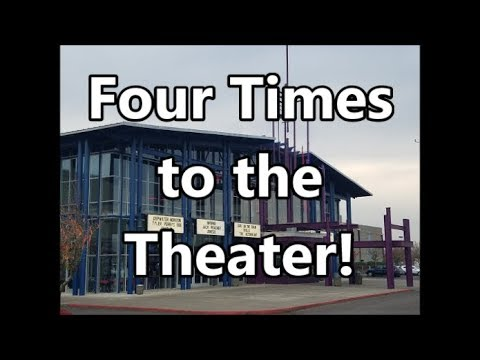 Four Times to the Theater 5.19.19 day 2153