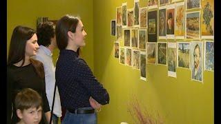 По следам нашумевшей песни: на выставке Ван Гога в Ельце больше любовались работами художника