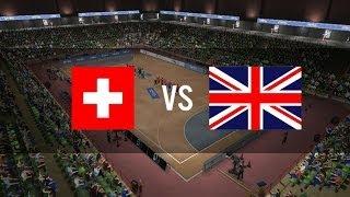 IHF Handball Challenge 14 Gameplay ( Switzerland - Great Britain )HD