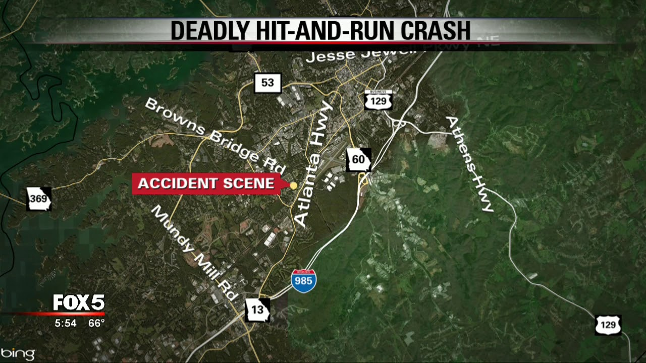 Hall County deadly hit and run