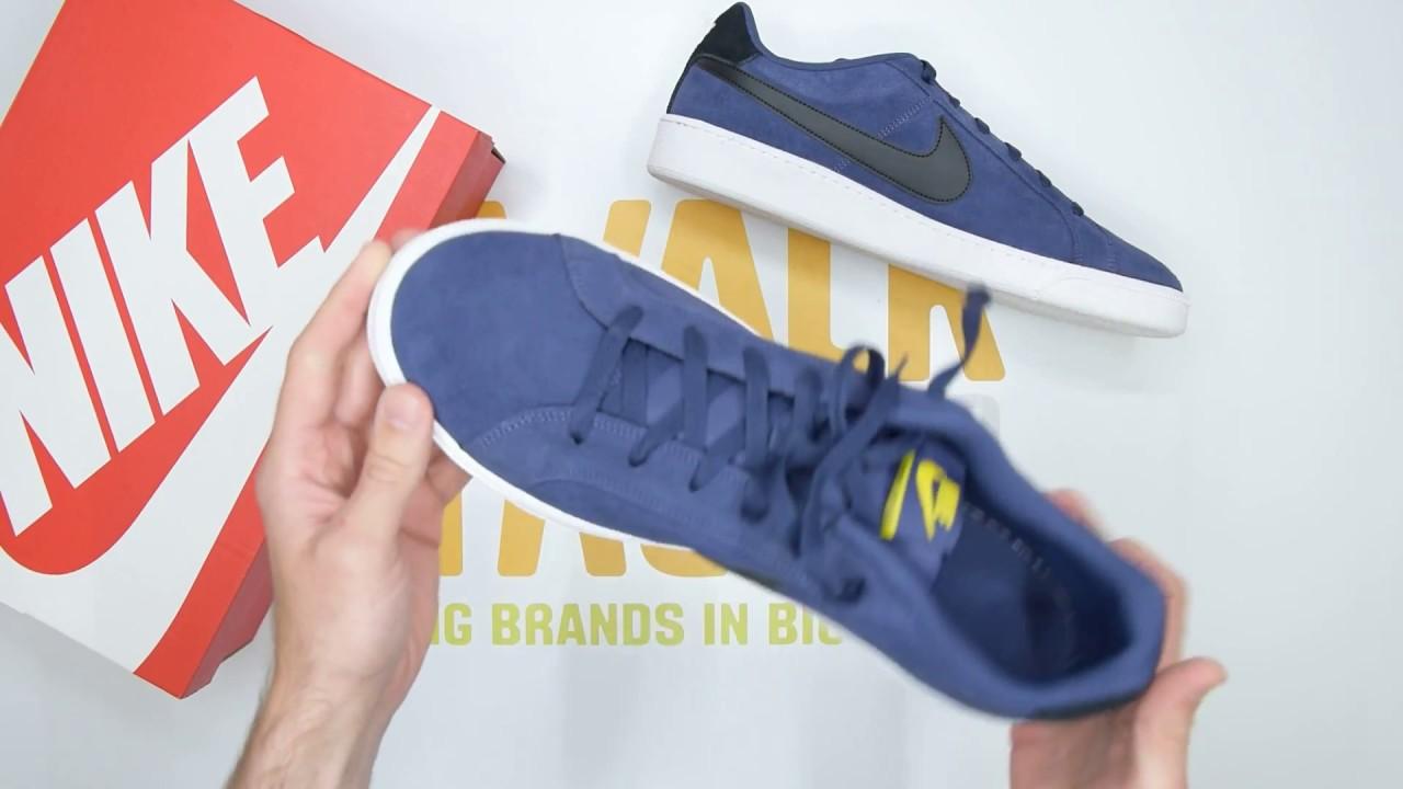 ce4feabcb6f Nike Court Royale Suede - Indigo White - Unboxing