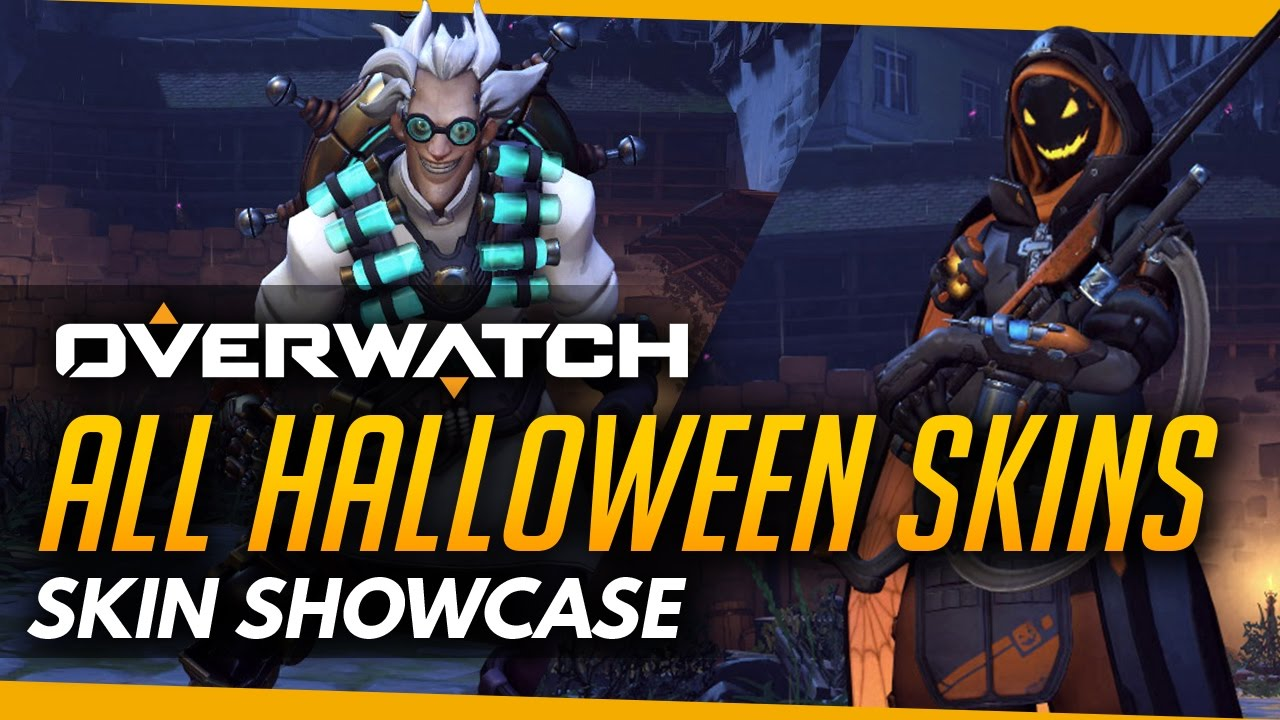 Overwatch | HALLOWEEN All Skins, Emotes, Highlight Intros, Victory ...