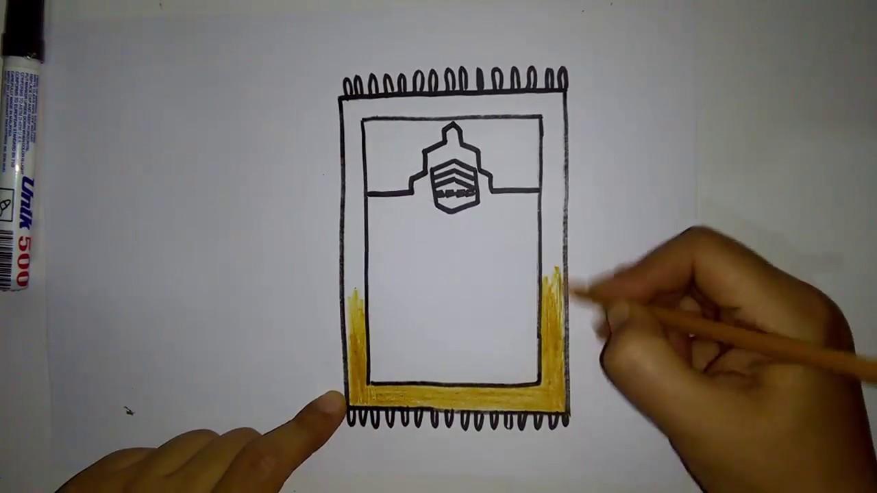 رسومات بسيطة وجميلة تعليم الرسم للاطفال تعلم رسم سجادة صلاه سهله