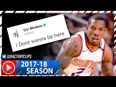Eric Bledsoe Full Highlights vs Lakers (2017.10.20) - 28 Pts, Don't Wanna Be with Suns!